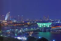横浜 横浜港の夜景