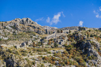 モンテネグロ コトル 城塞