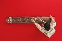 お琴を弾く着物の日本人女性