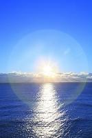 福島県 天神岬より日の出