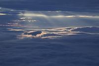 北海道 津別峠から雲海と光