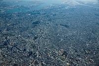 東京都 大橋周辺より大井と羽田方面 高度3,000m