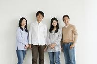 仲の良い日本人親子