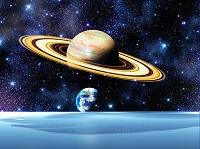 ドーナツ惑星と地球