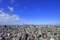 東京都 渋谷・新宿・都市風景 恵比寿から