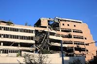 セルビア ベオグラード NATO軍空爆被弾ビル