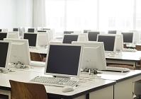 大学講内のパソコンルーム