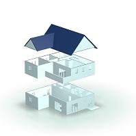 3D模型の建築プラン