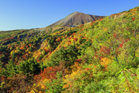 福島県 紅葉の吾妻小富士