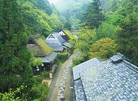 京都府 嵯峨野の家並み