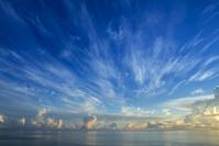 沖縄県 与那国島 朝焼けイメージ
