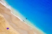 ギリシャ レフカダ島 海と砂浜