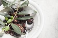 オリーブオイルとオリーブの実