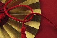 扇子と飾り紐