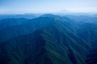 白神山地 ブナ天然林世界自然遺産、白神岳 向白神岳の山並みよ...