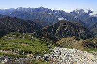 長野県 唐松岳から立山連峰