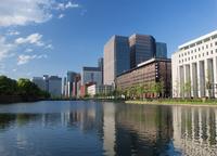 東京都 帝国劇場と丸の内方面