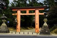 奈良県 春日大社 一之鳥居