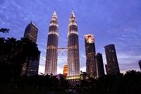 マレーシア ペトロナス・ツイン・タワー