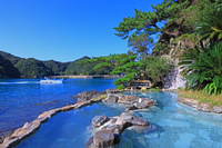 海沿いの露天風呂