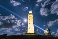 山口県 角島灯台 夜景