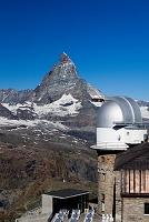 スイス ツェルマット ゴルナグラード展望台より  マッターホル...