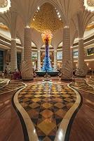 UAE ドバイ アトランティス・ザ・パーム・ホテルの内観