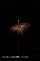 茨城県 土浦全国花火競技大会 創造花火 回転している独楽