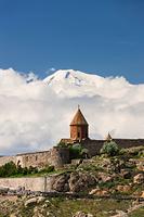 アルメニア ホルヴィラップ修道院 アララト山