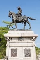 宮城県 伊達政宗公立像