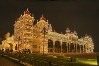 インド マイソール宮殿