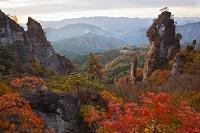 群馬県 妙義山 紅葉