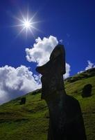 モアイピロピロと太陽