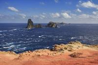 東京都 小笠原 針の岩 聟島から針の岩と媟島