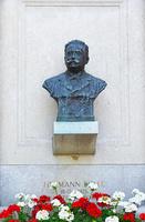 クロアチア ザグレブ ミロゴイ墓地 ヘルマン・ボレーの胸像