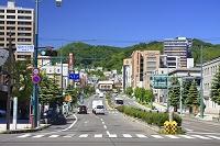 北海道 小樽運河添え色内1丁目