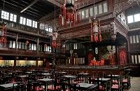 中国 天津戯劇博物館内部(旧広東会館)