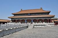 中国 北京 故宮 寧寿宮 皇極殿