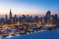 アメリカ合衆国 シカゴの冬