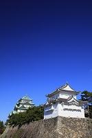 愛知県 名古屋城 西南隅櫓と大天守閣