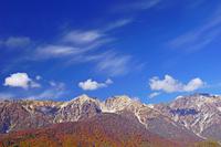長野県 岩岳から白馬三山