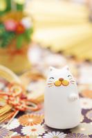 招き猫のクラフトと縁起物