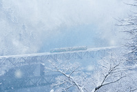 福島県 三島町 JR只見線 第三只見川橋梁