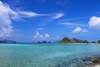 沖縄県 伊釈加釈島と屋嘉比島 座間味島
