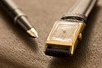 時計と万年筆