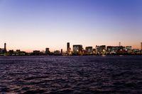 東京湾 都会の夜景