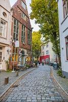 ドイツ ブレーメン シュノーア地区 旧市街
