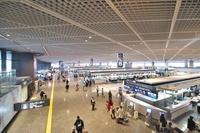 成田国際空港 第1ターミナル 出発ロビー
