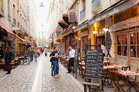 フランス リヨン レストラン街