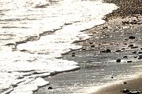 茨城県 大洗町 冬晴れの渚